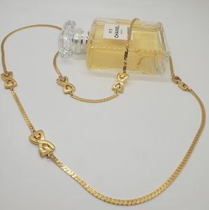 Vintage Givenchy Signed 1980's Long Necklace
